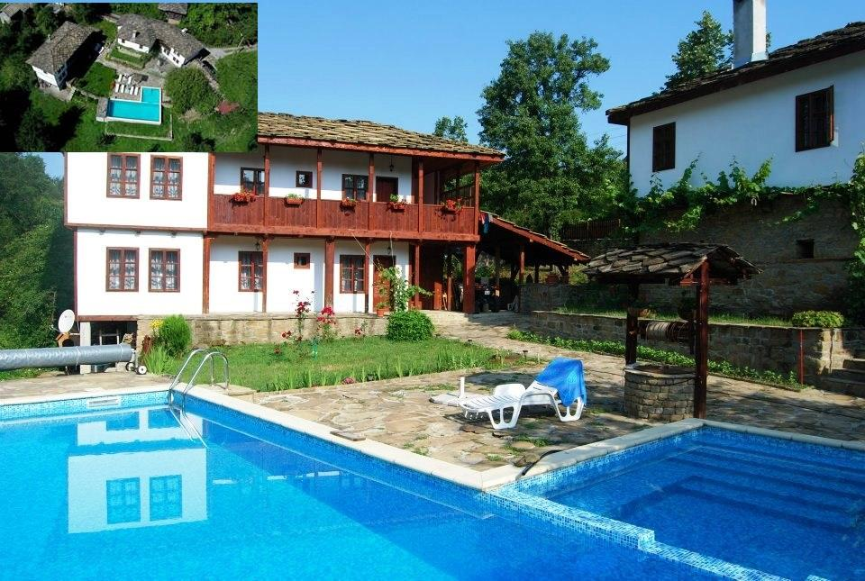 A fabulous property, consisting of two fully renovated houses, a large swimming pool and 2200 sq m of garden.